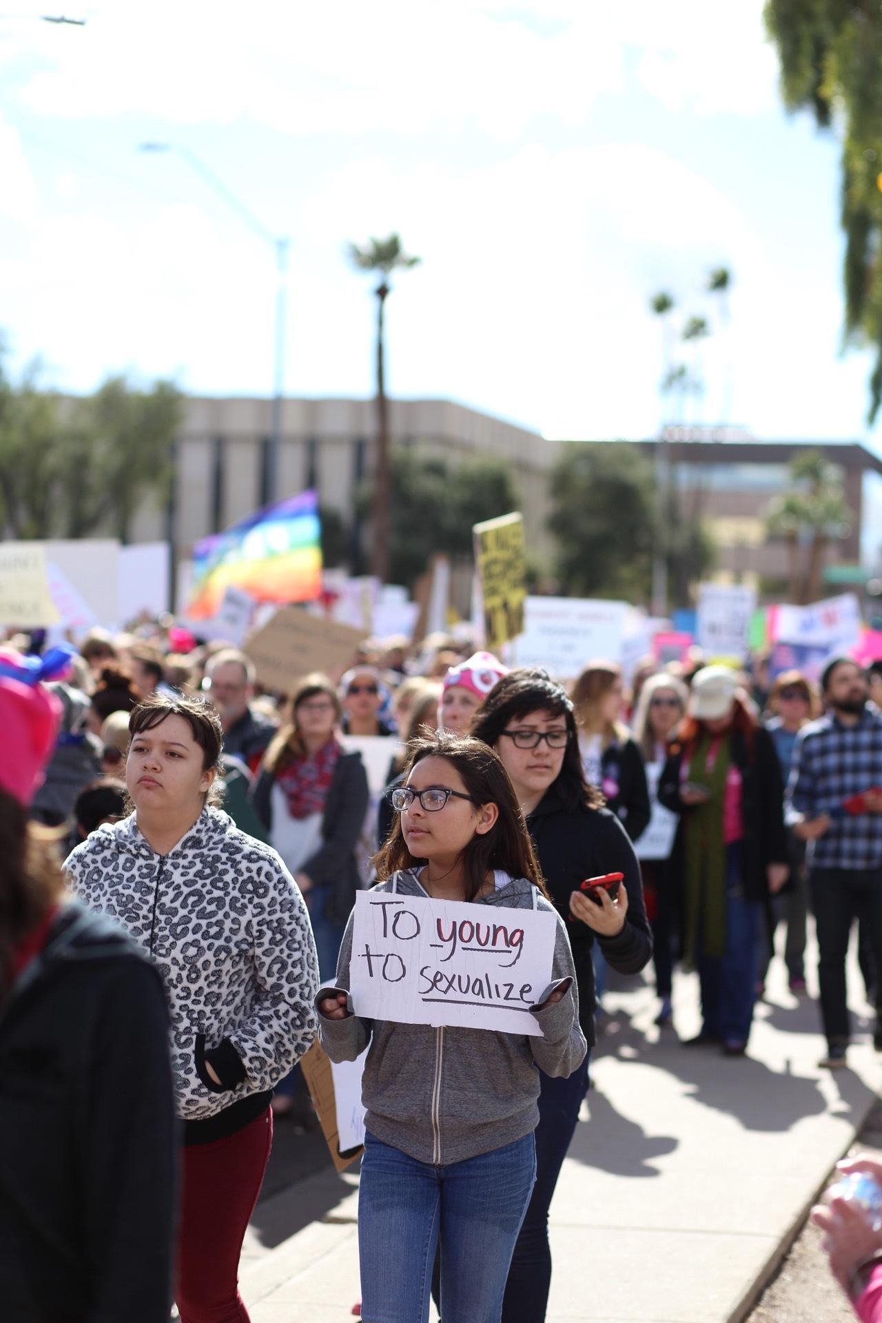 Phoenix Women's March January 21, 2017 (personal work)