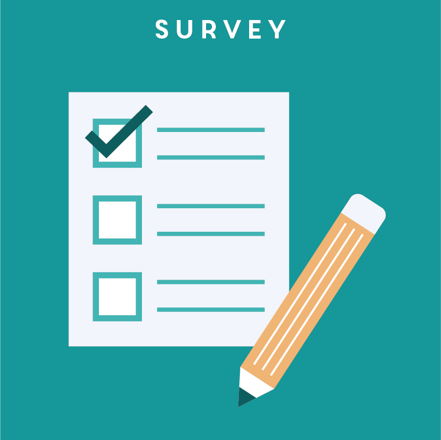 SURVEY 問卷調查   Survey is one of the most common tools used to gather first-hand information and feedback from real users. A survey can be used not only at the beginning of the research phase, but also at a later stage for more specific information.