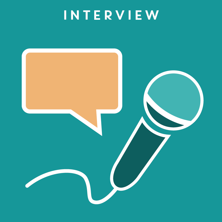 INTERVIEW 訪談   While a survey provides responses from real users, it doesn't allow follow-up questions for qualitative research like an interview does, where the questions are tailored specifically to the target interviewee.