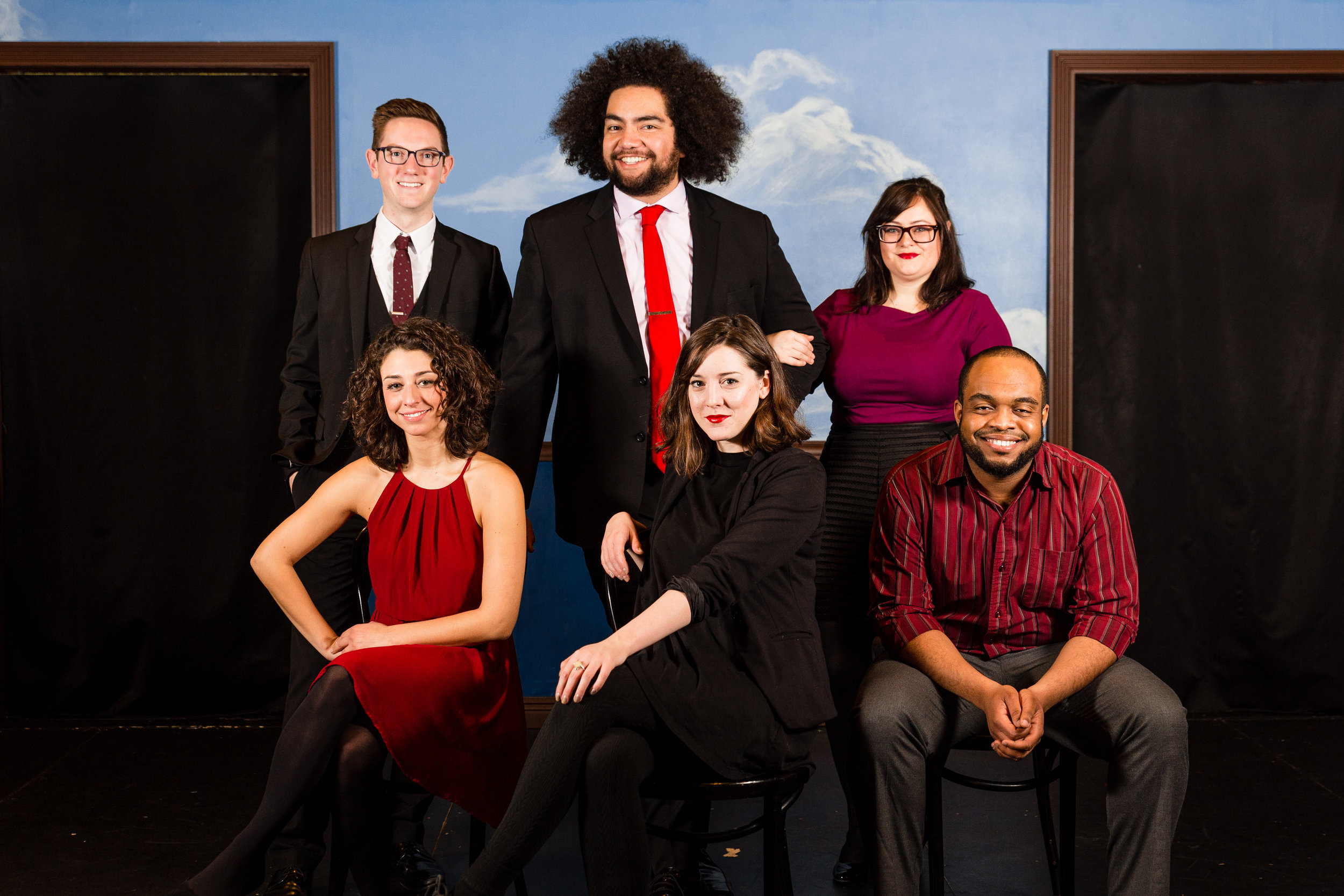 The Cast of Second City