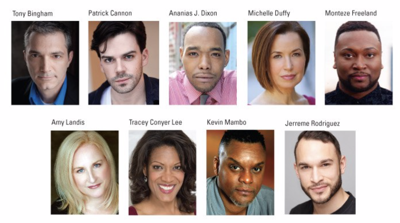 Cast of Sweat at Pittsburgh Public Theater
