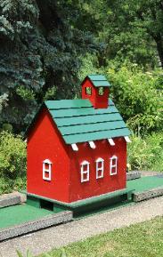 The School House on hole 5 via website