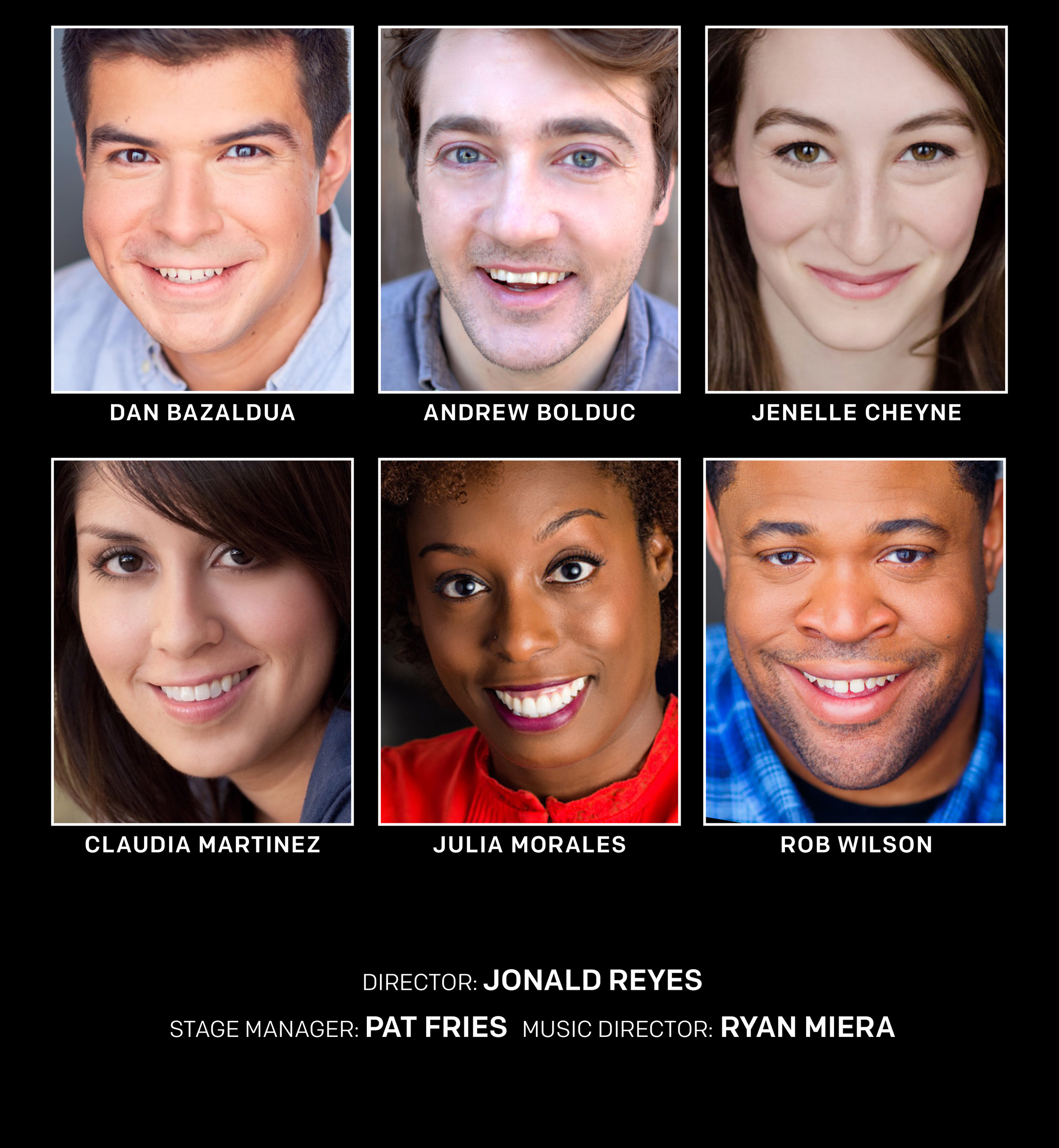 Cast for Pittsburgh engagement.