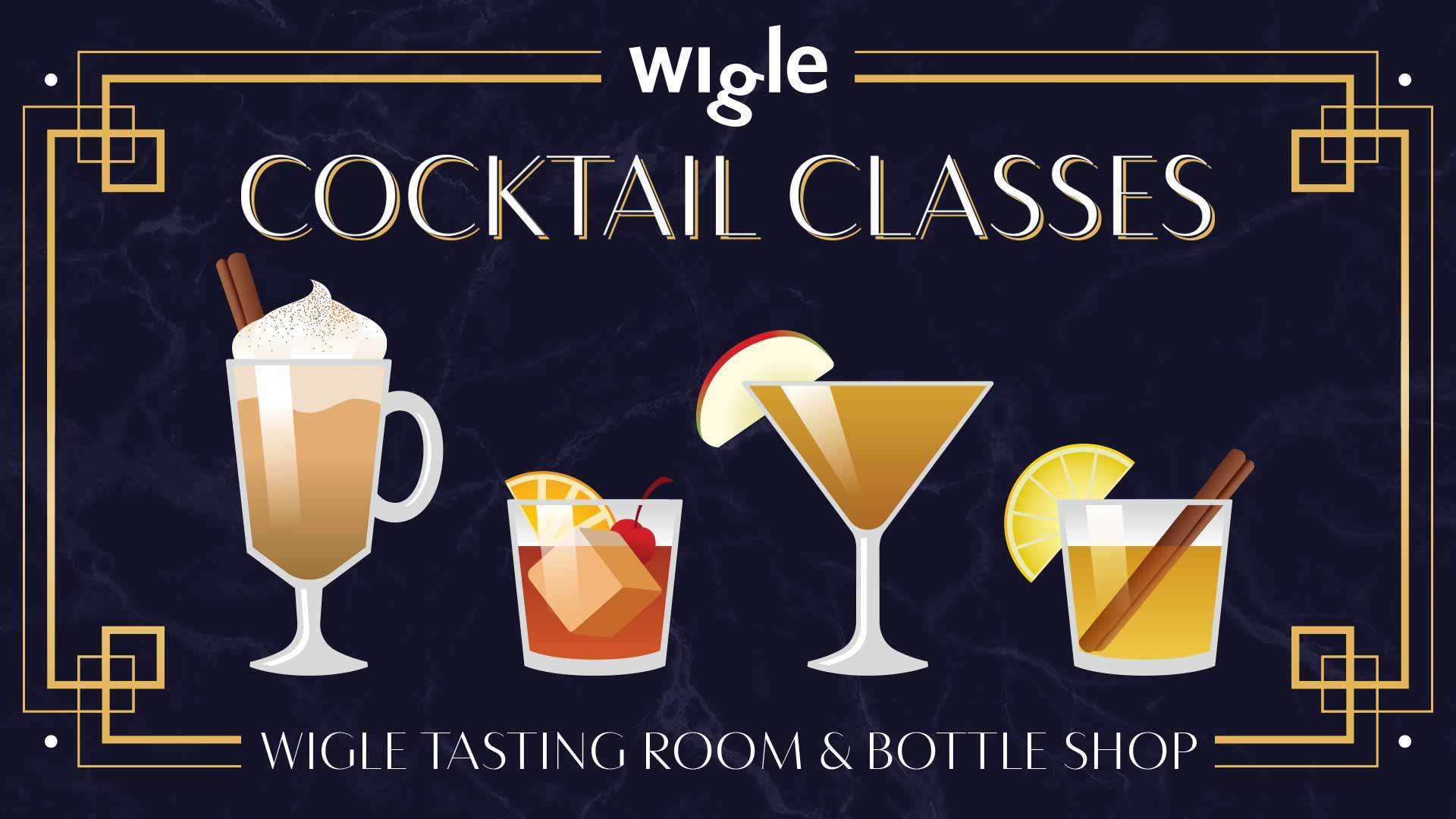 Monday, October 21st - Pumpkin Spice Cocktail Class - Wigle. Tasting Room and Bottle Shop Downtown