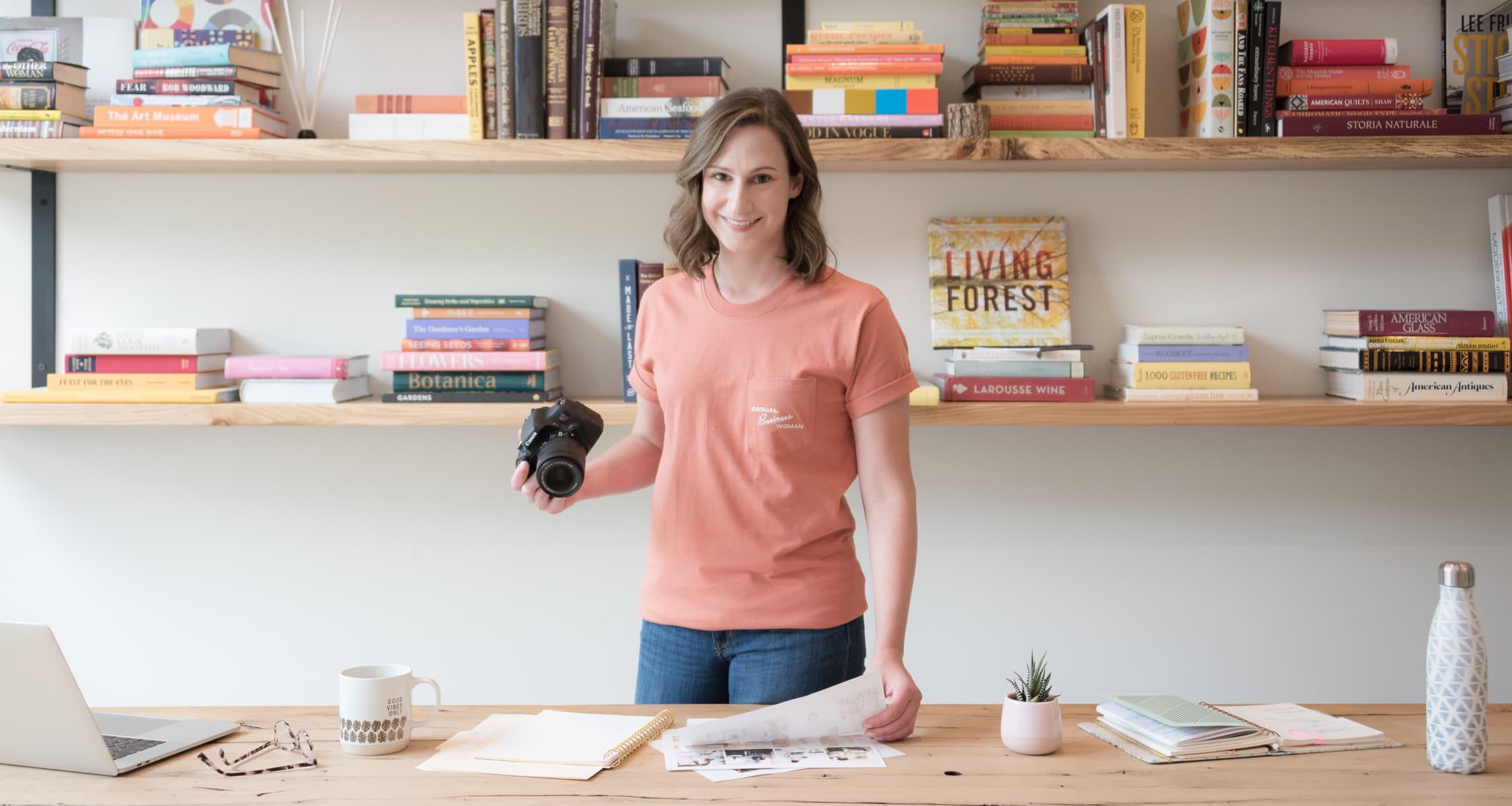 Danielle Hunter & Hunter Design Studio work, including branding, website design, and product photography