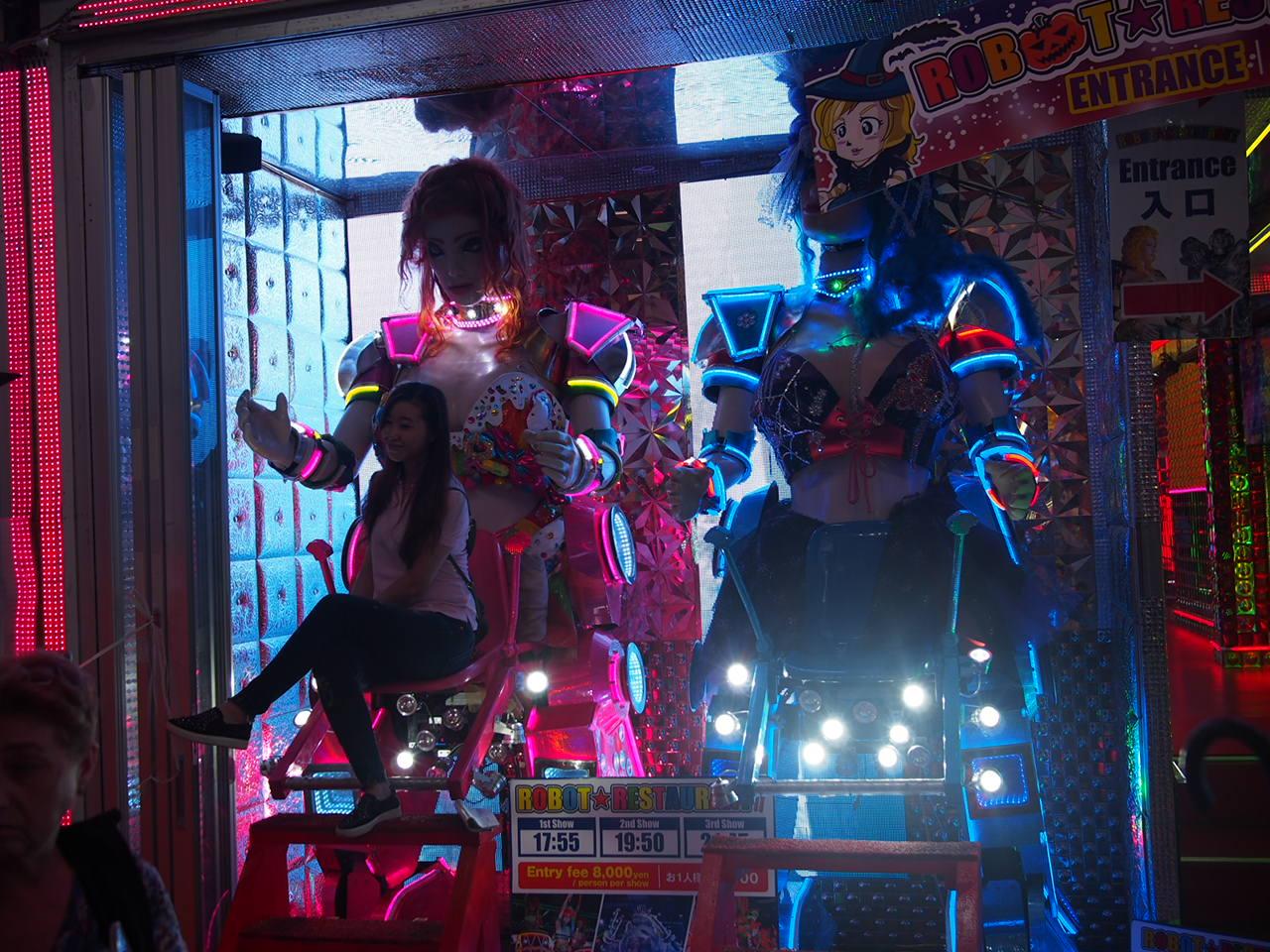 Robot Restaurant Kabukicho - Copyright: Life-Sparring.com