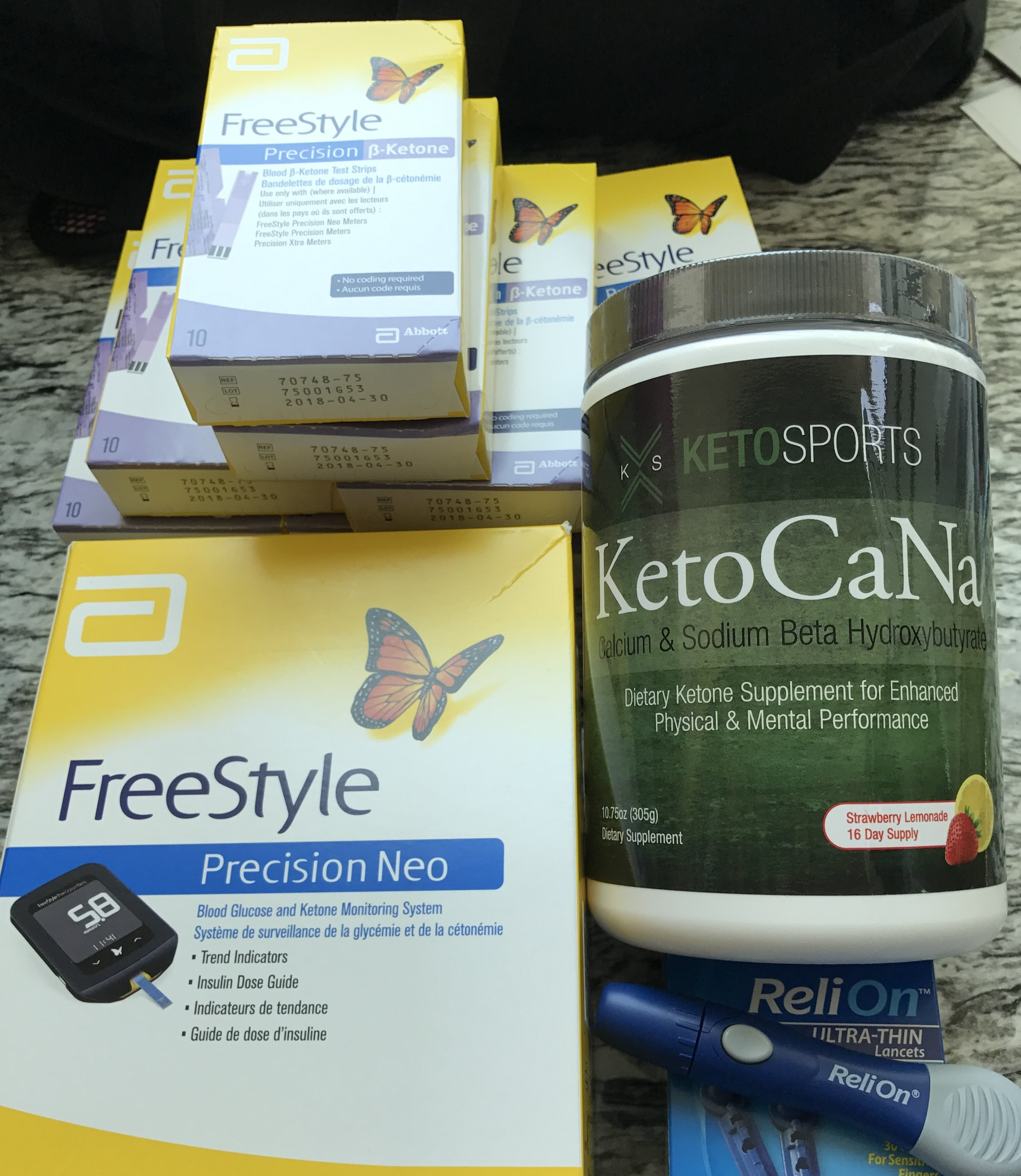 Keto Diet Guinea Pig Package - Copyright www.life-sparring.com