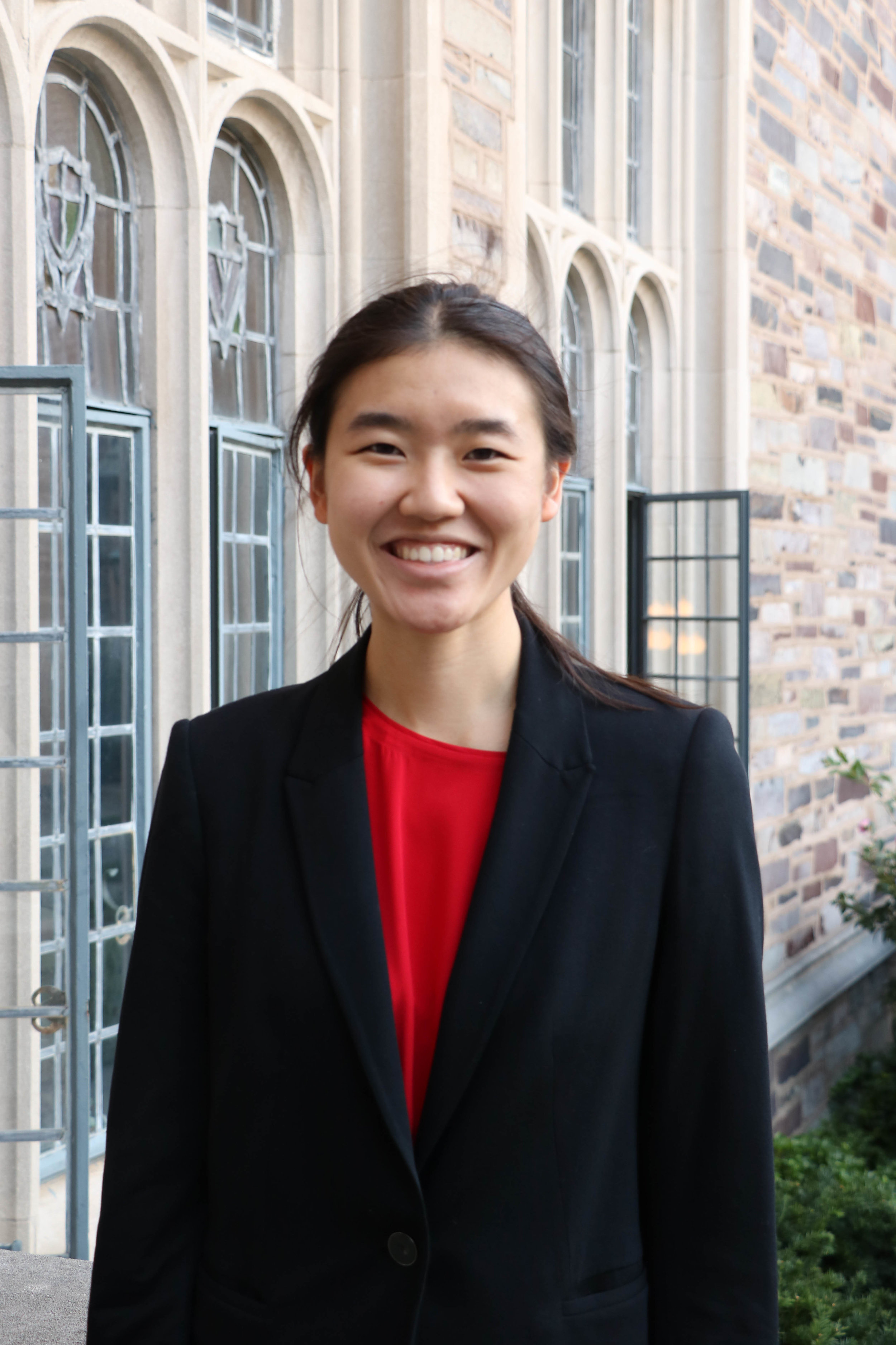 REBECCA HAN   Rebecca is a freshman from Tuscaloosa, AL. She is interested in majoring in the Woodrow Wilson School or Ecology and Evolutionary Biology and pursuing certificates in East Asian Studies and other fields. Though she speaks Mandarin at home, she has never studied the language until arriving to Princeton and is excited by the campus's vibrant Chinese-speaking community. She is interested in possibly studying or researching human rights and the impacts of industry on the environment in China. and At Princeton, she writes for the News section of the Daily Princetonian and is involved with Trego Singers, the Princeton Chinese Theatre, the Playwright's Guild, and the Conservation Society.