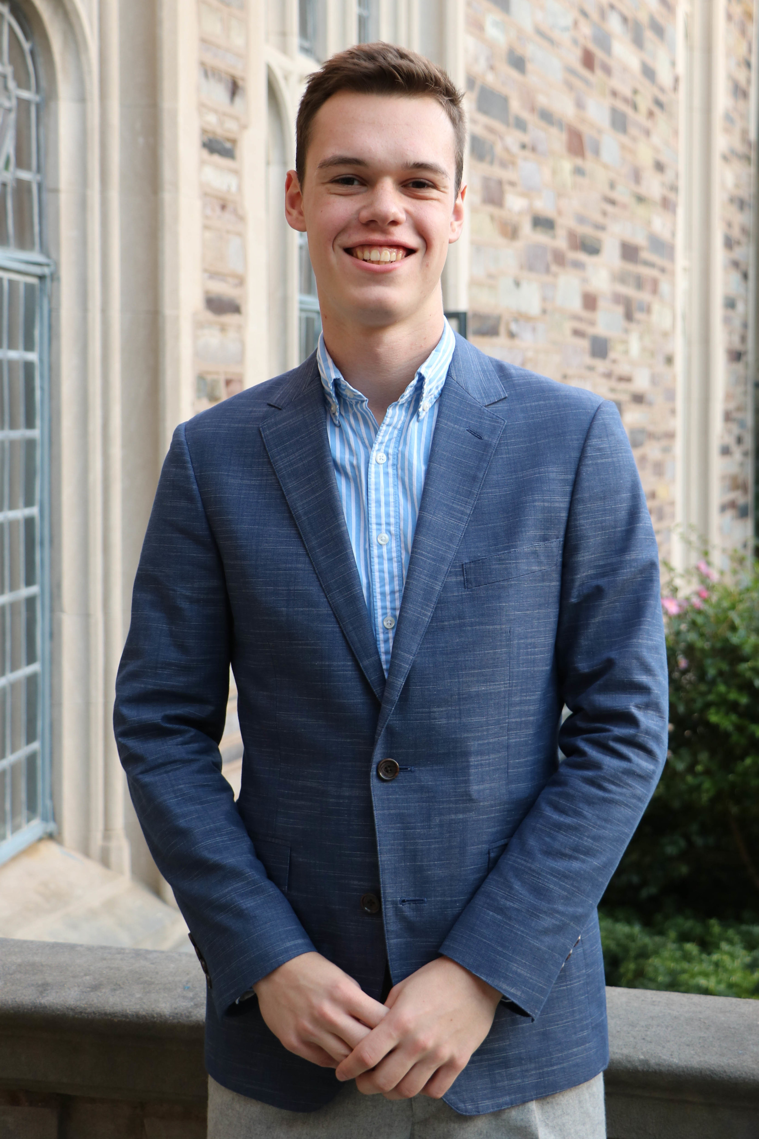 CHRIS WALTON   Chris Walton is a Sophomore from Pennington, New Jersey, majoring in Politics with a focus on international relations. Chris became involved with PUCC after spending last Summer in China teaching at a Model UN camp, during which he spent time in Shanghai, Beijing, and Hong Kong. His academic interests include conflict studies, human rights, and Eastern European politics. Outside of PUCC, he Co-Chairs Rocky College Council, is a member of the lightweight rowing team, and is on the USG Campus and Community Affairs Committee.