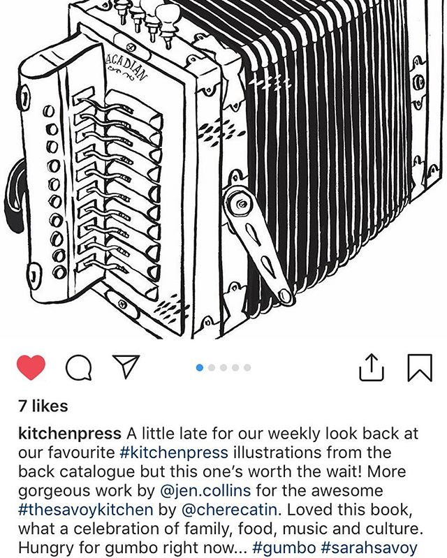 Repost from @kitchenpress and it IS gumbo weather!!