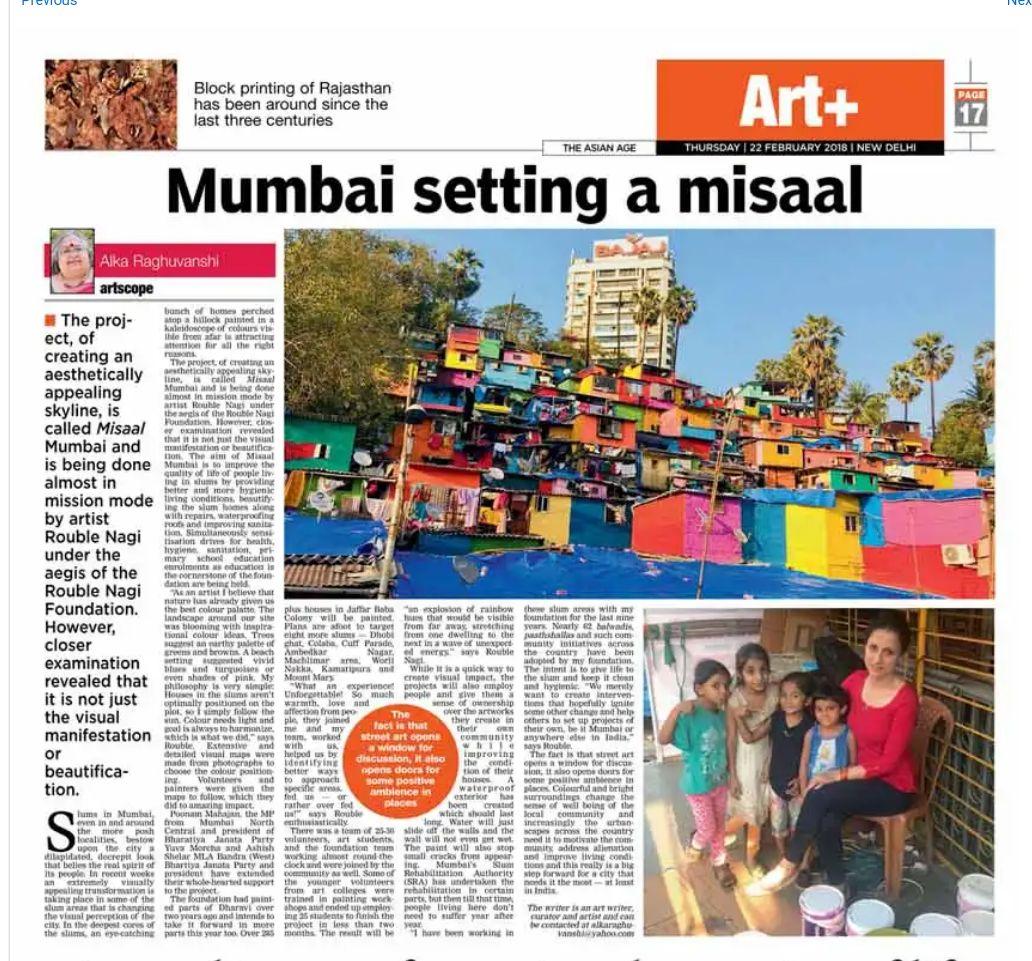 Misaal Mumbai - Asian Age