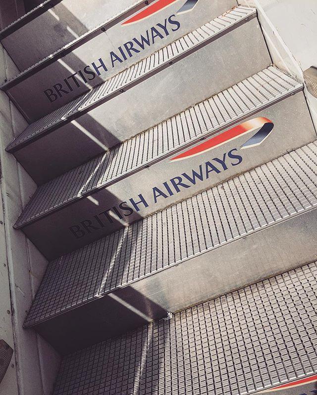 Stairway to heaven?! 🛫 @british_airways