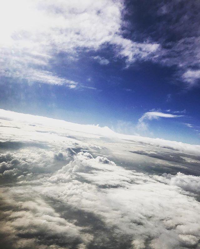 Riding the clouds yesterday ✈️⛅️@britishairways #avgeek