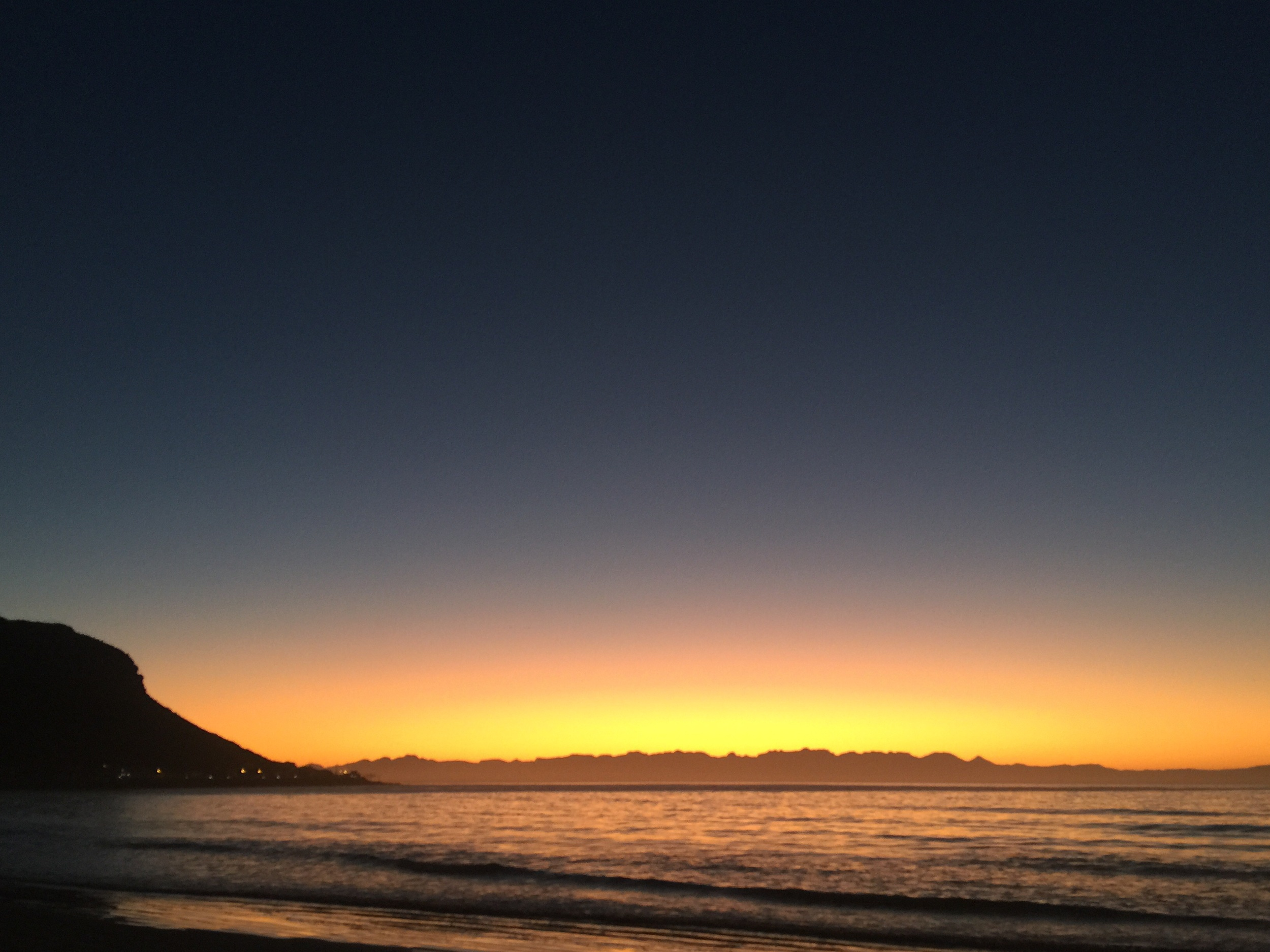 Sunrise, Fish Hoek, Southern Peninsula, Cape Town