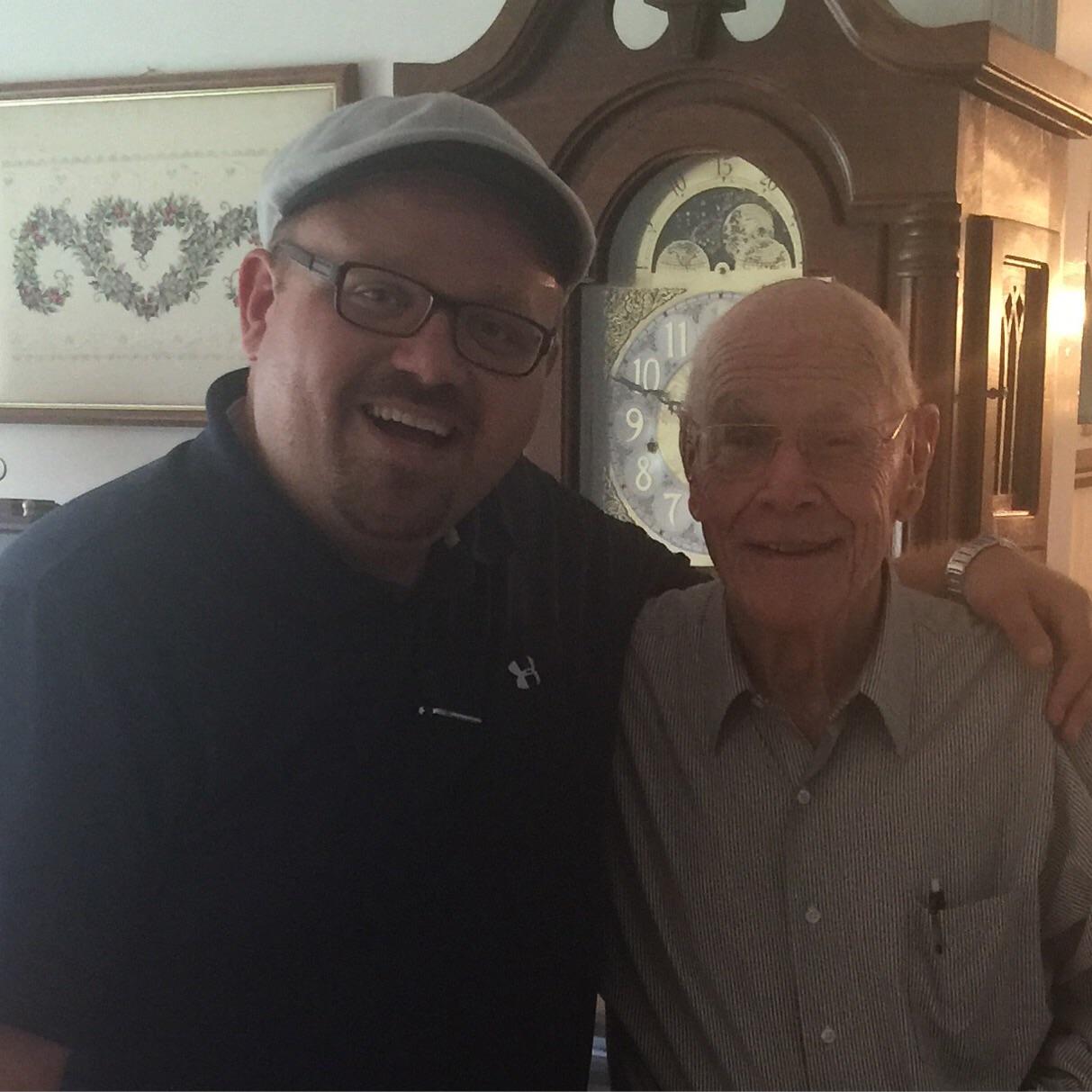 Don Jacobs & I, April 2016