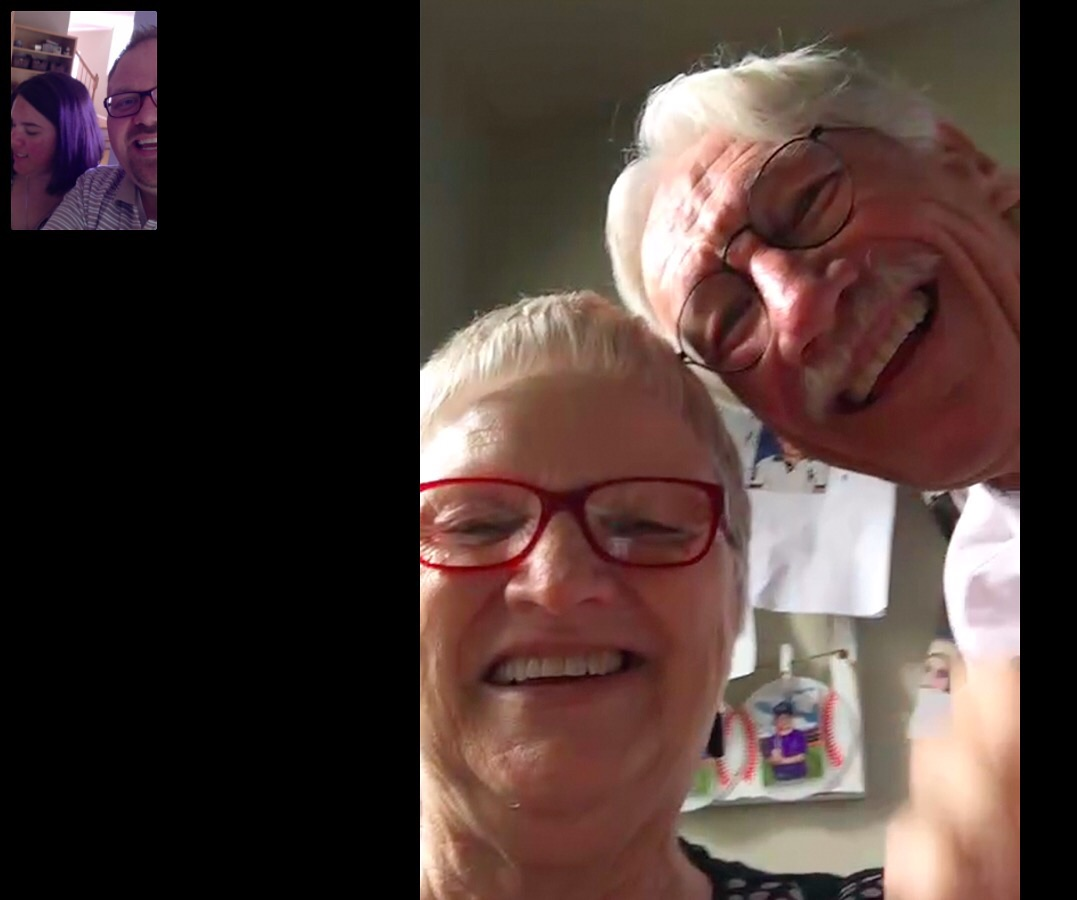 Our most recent Skype with Floyd & Sally