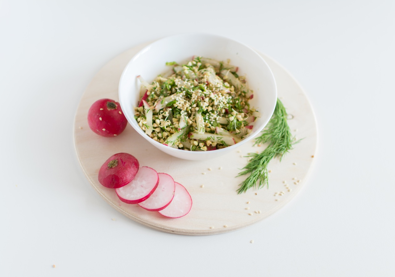 Enjoy meat-free meals a couple of times per week