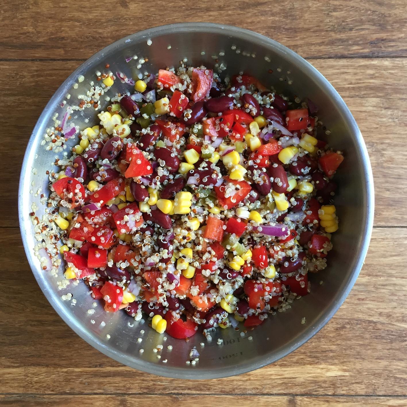 The best quinoa salad ever!