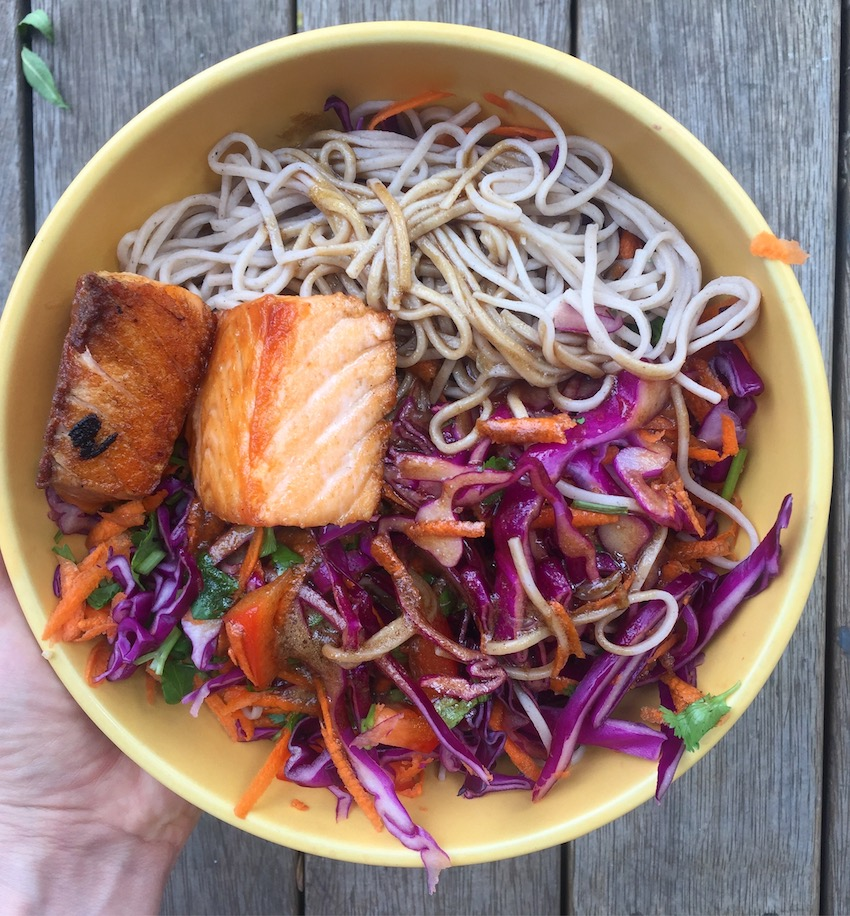 This soba noodle salad is a delicious addition to your dinner repertoire