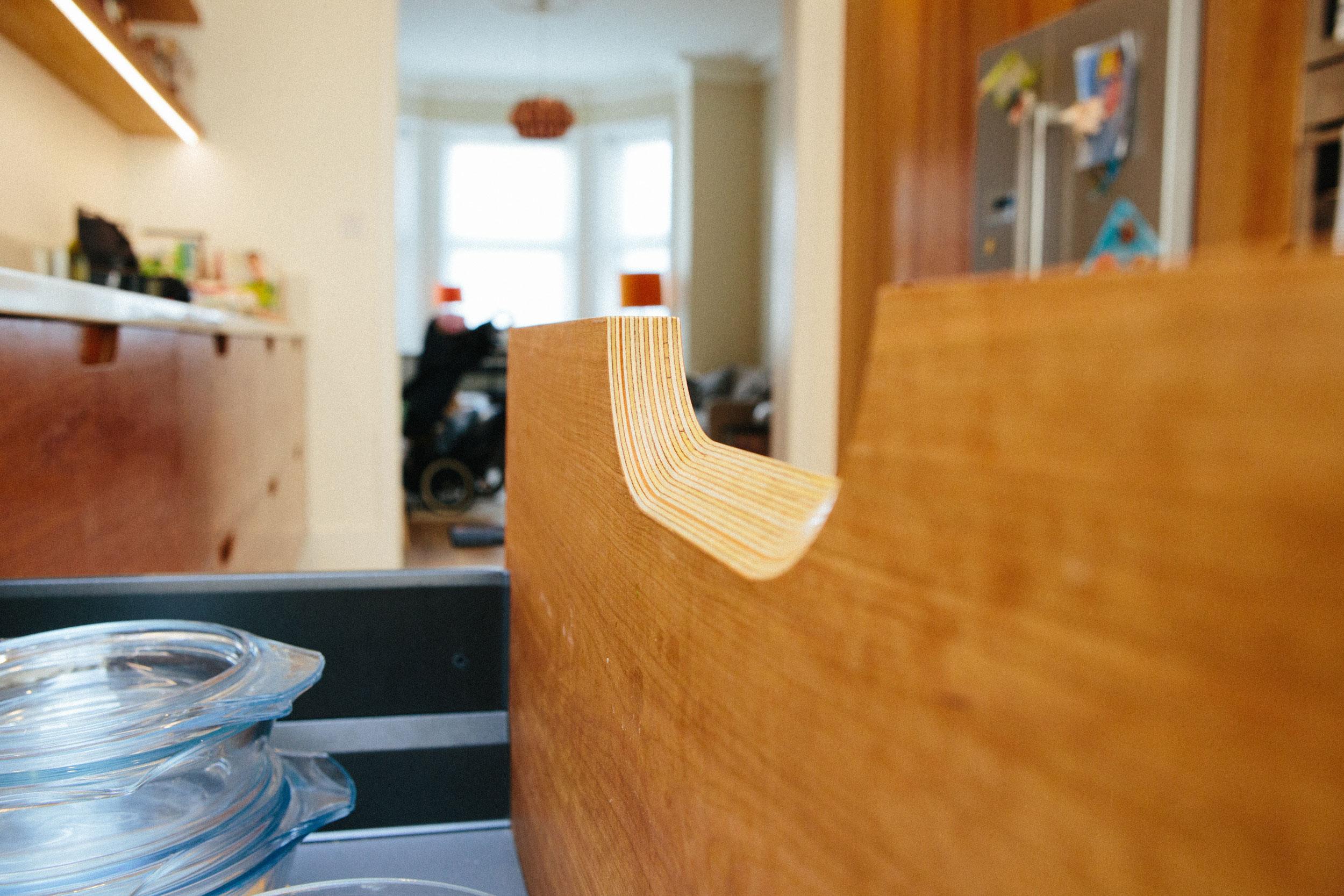 birch ply drawers, retro vintage design, scandinavian