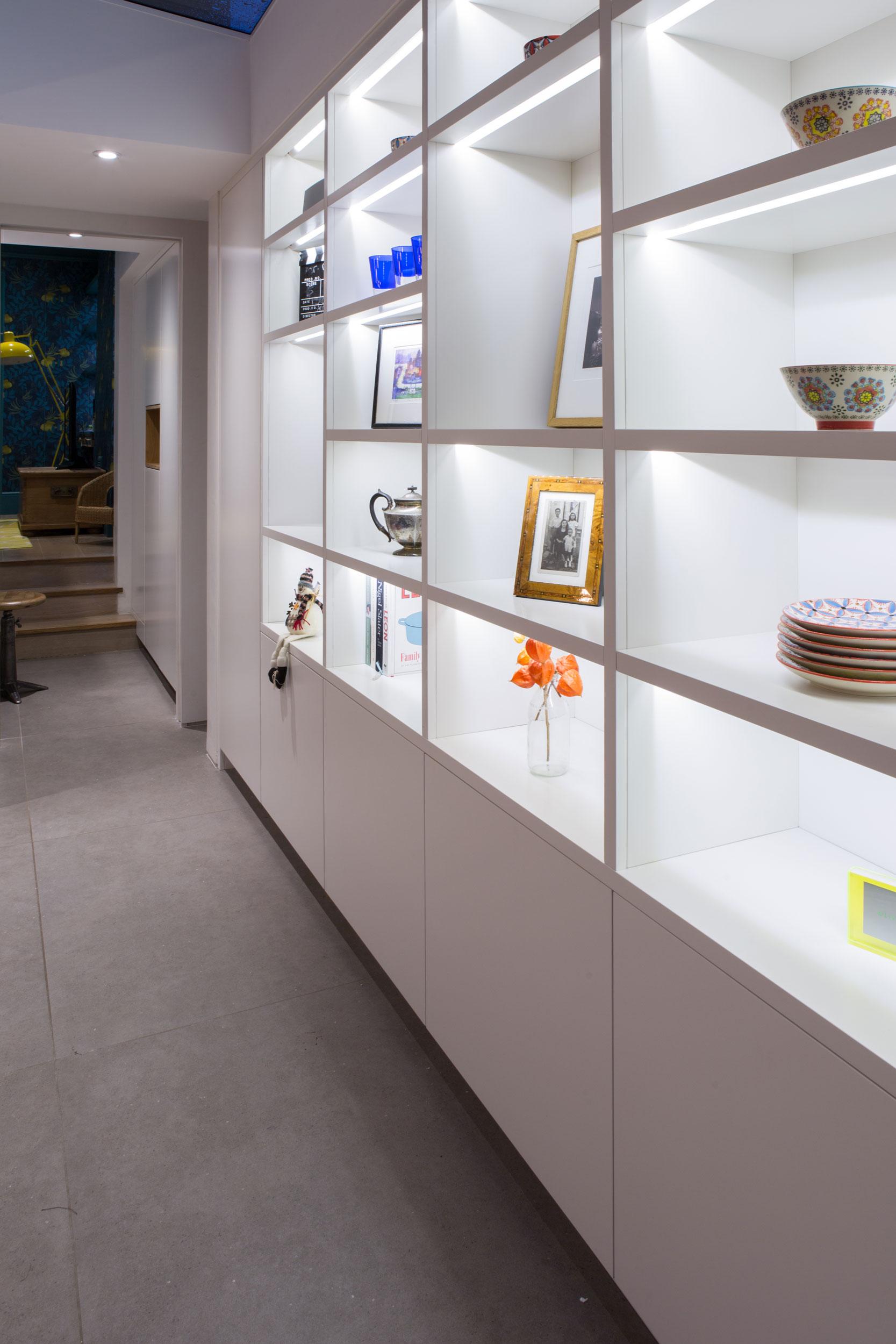 Carpentry Crystal Palace Shelving Unit - West & Reid