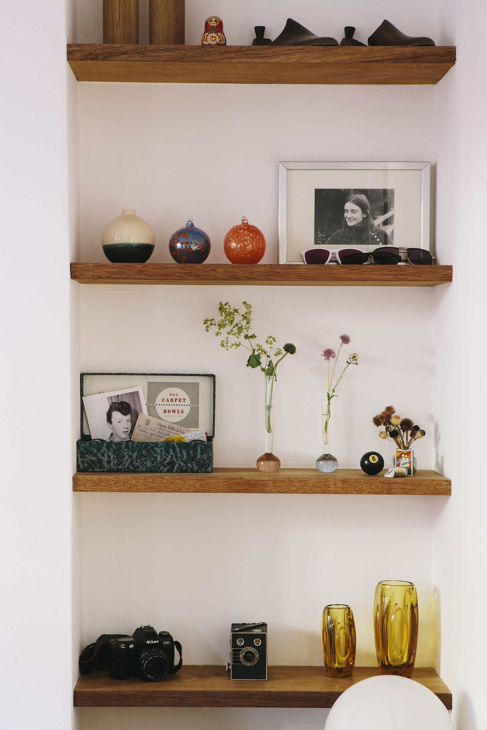 alcove shelves carpenter gypsy hill cherry ply
