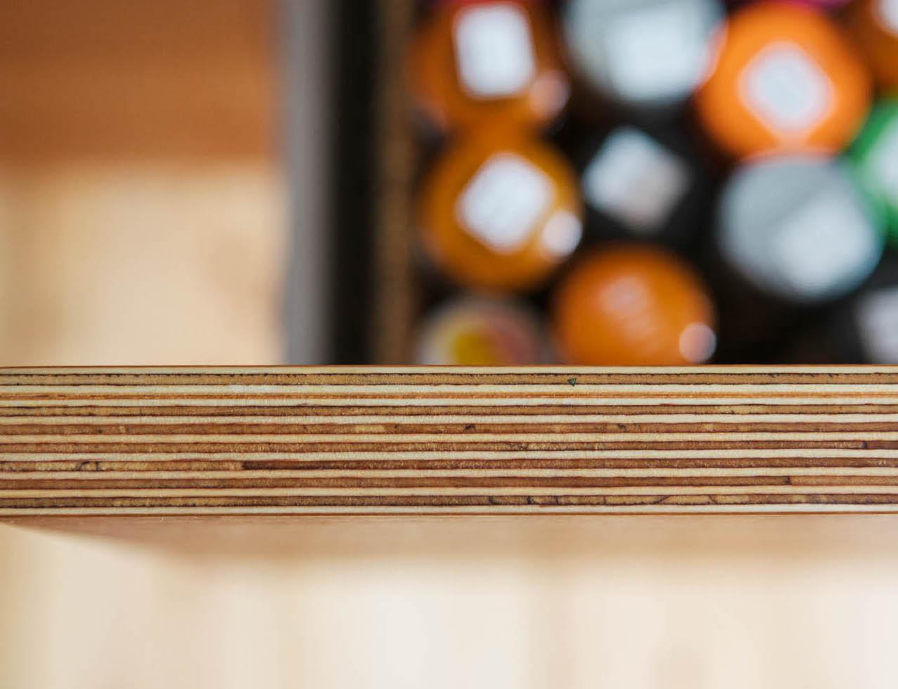 Birch Plywood Kitchen Design West Dulwich Dalkeith Road