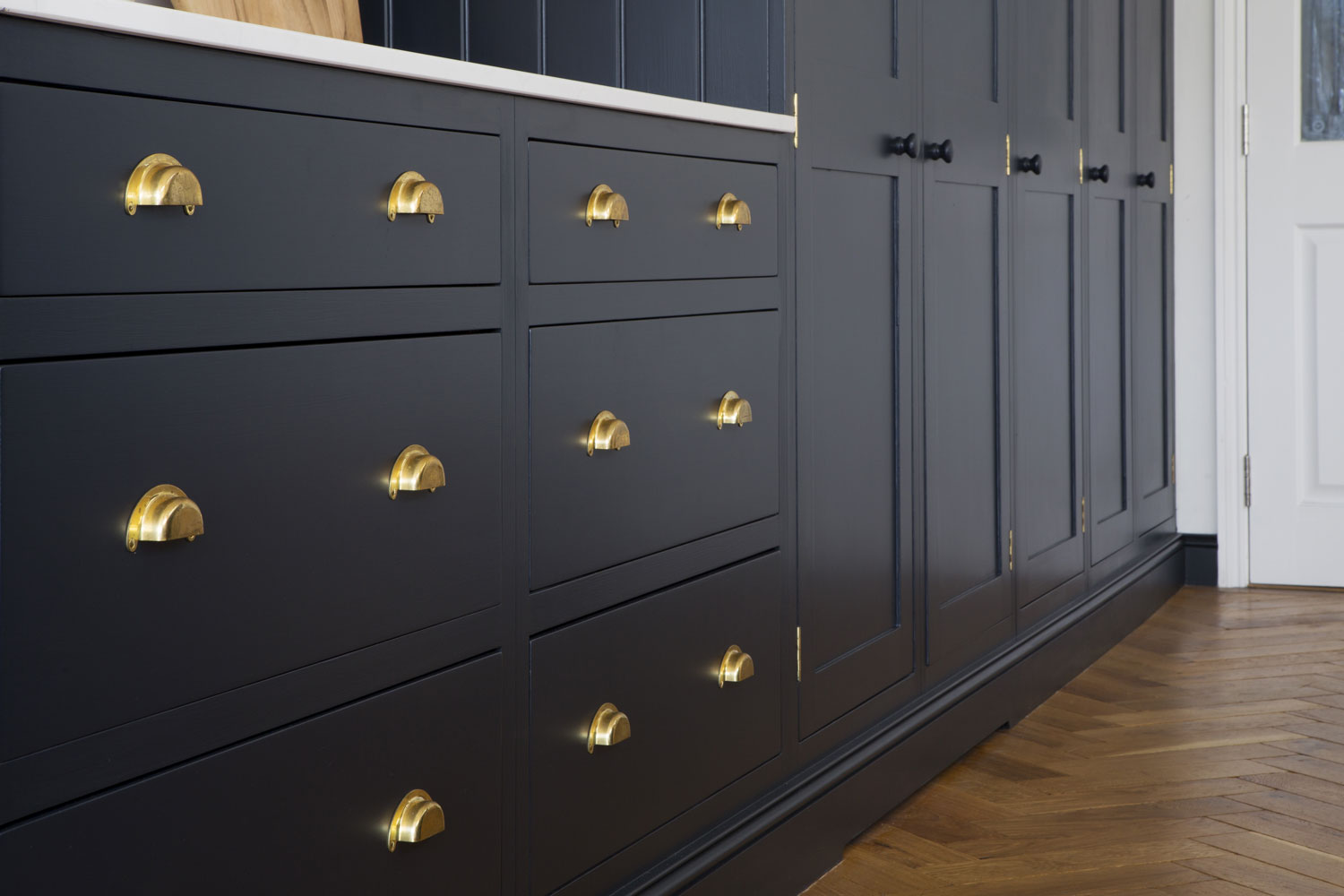 drawers, brass handles, bespoke design, victoriana