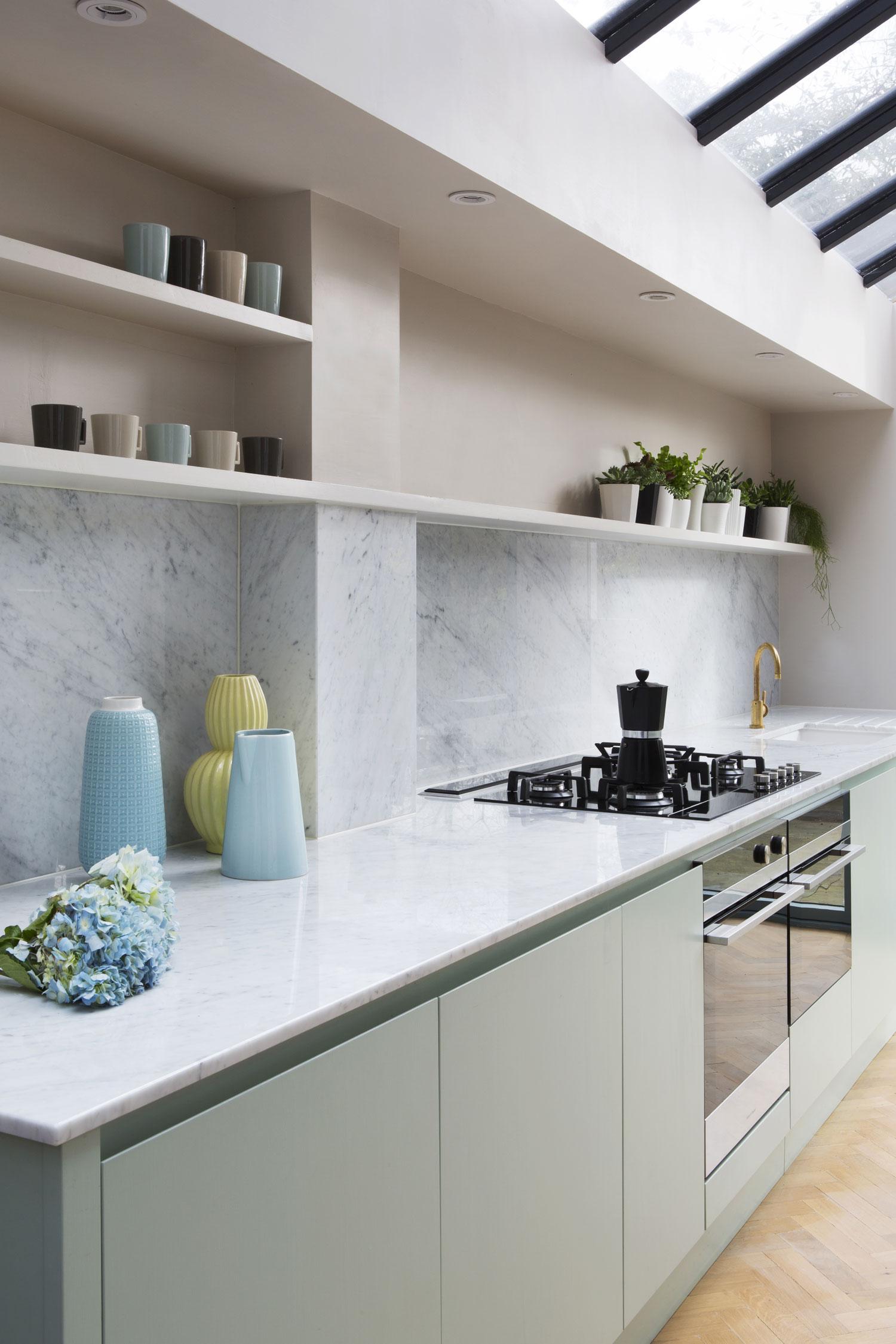 kitchen surfaces, marble, kitchen design, bespoke