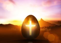 Egg and cross