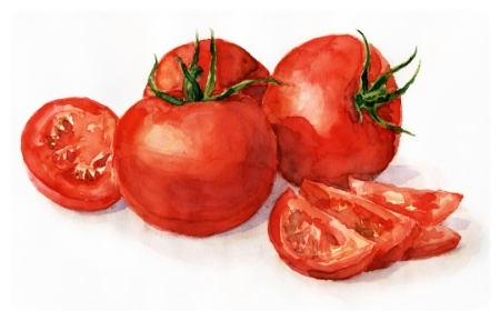 Tomatoes are rich in antioxidant lycopene, which is good for our eye sight and the skins ability to defend against UV radiation.Enjoy these with some organic olive oil to btter absorb all this goodness.
