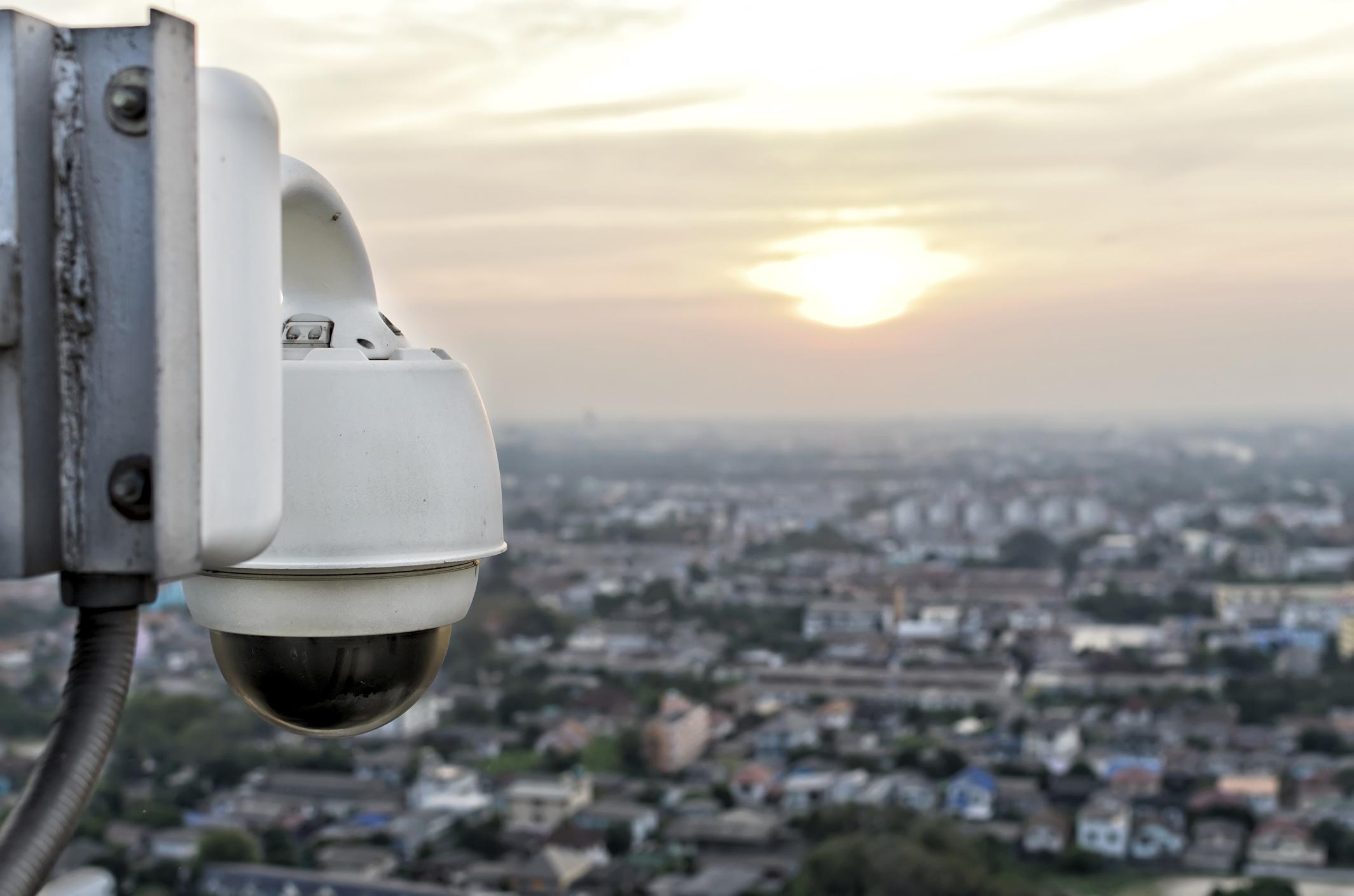 Wide area CCTV