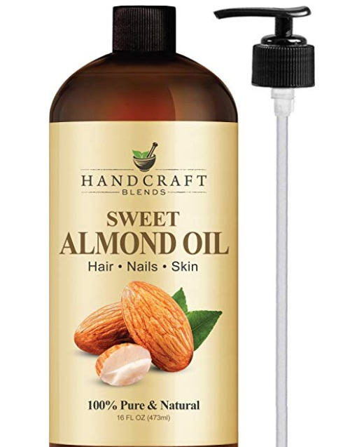 The Tata balm is pretty thick and has a really strong smell so I wanted something lighter and less fragrant for daytime and read so many recommendations to use pure sweet almond oil as a preventive for stretch marks so this has been my go-to for daytime.