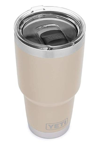 Water, water, water. Every piece of advice I received from other Mom's included drinking as much water as possible throughout the day. This tumbler will keep your water cold and fresh and will keep you from having to refill every hour.