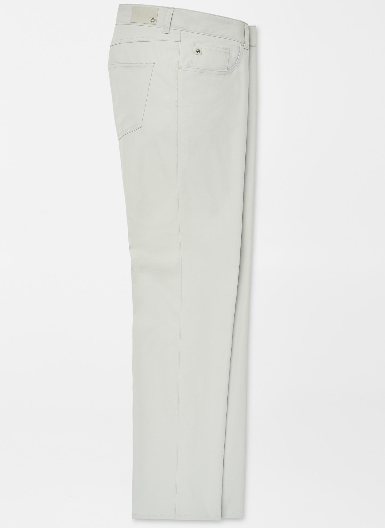 Peter Millar eb66 Performance Five-Pocket Pant in British Grey