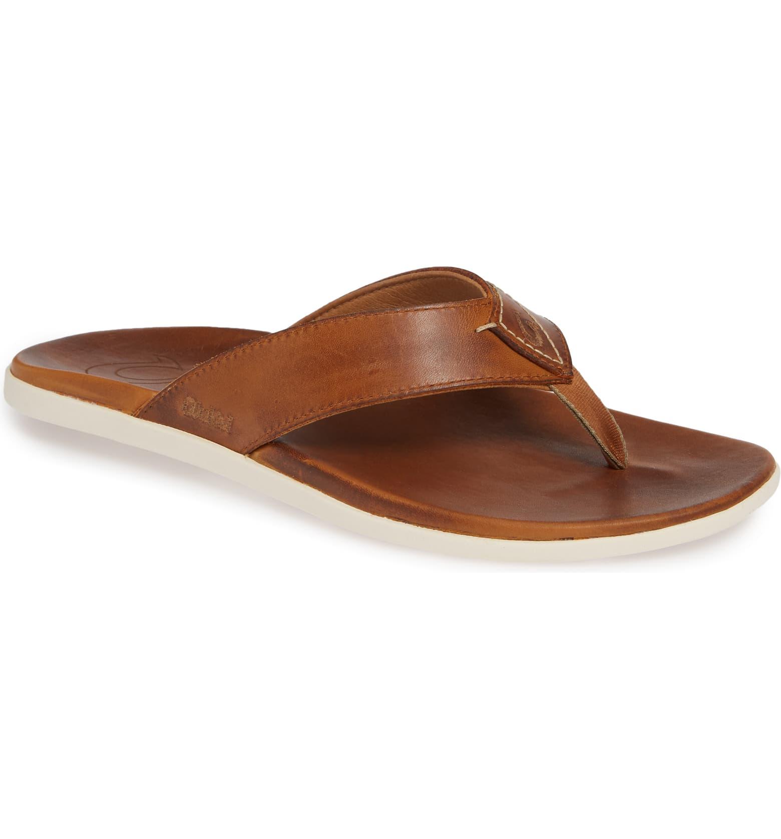 Leather Flip-Flop