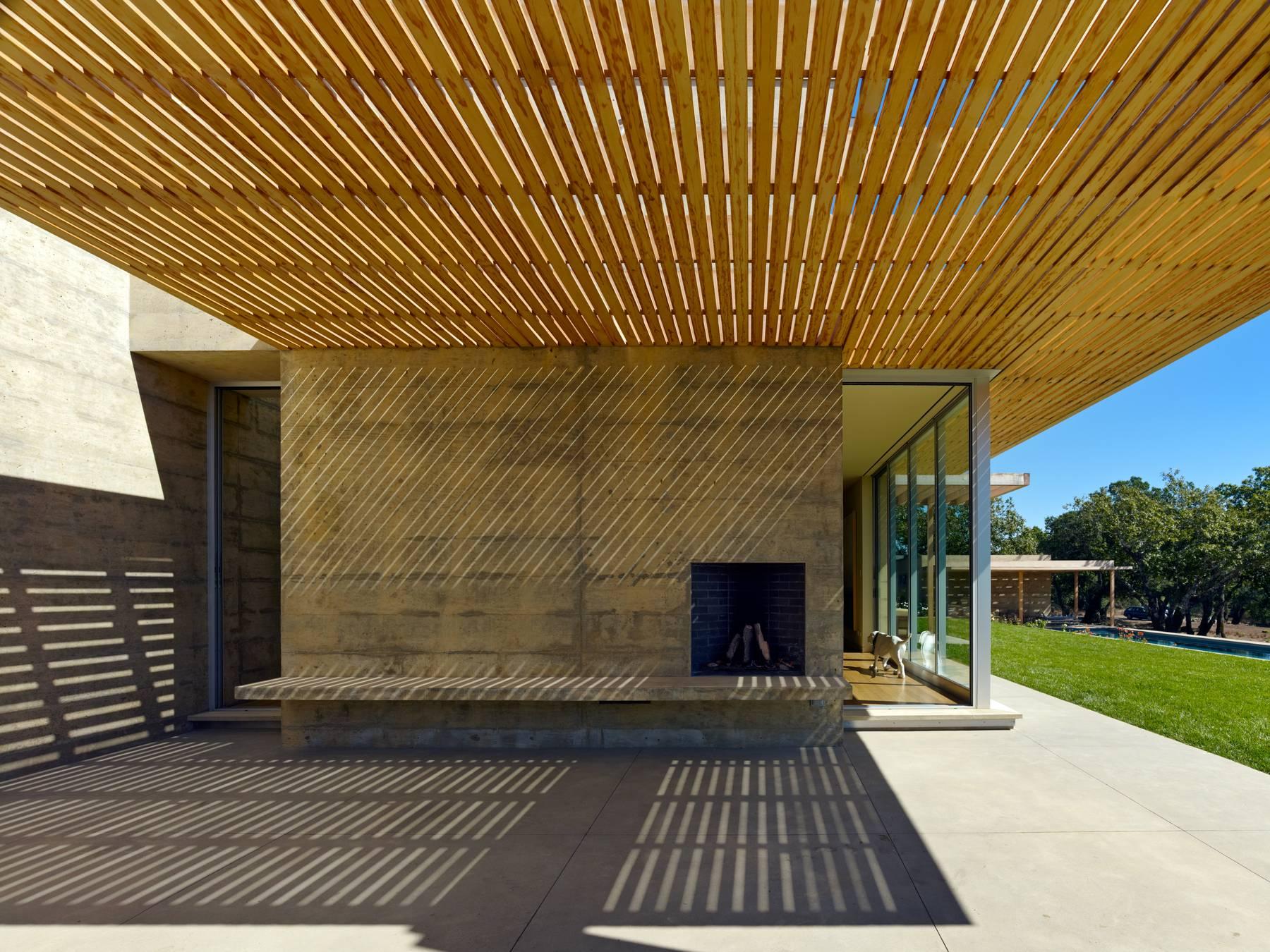 Sonoma Residence, Sonoma, California, 2010  Gluckman Mayner Architects:  Carol Chang, Snr Archt