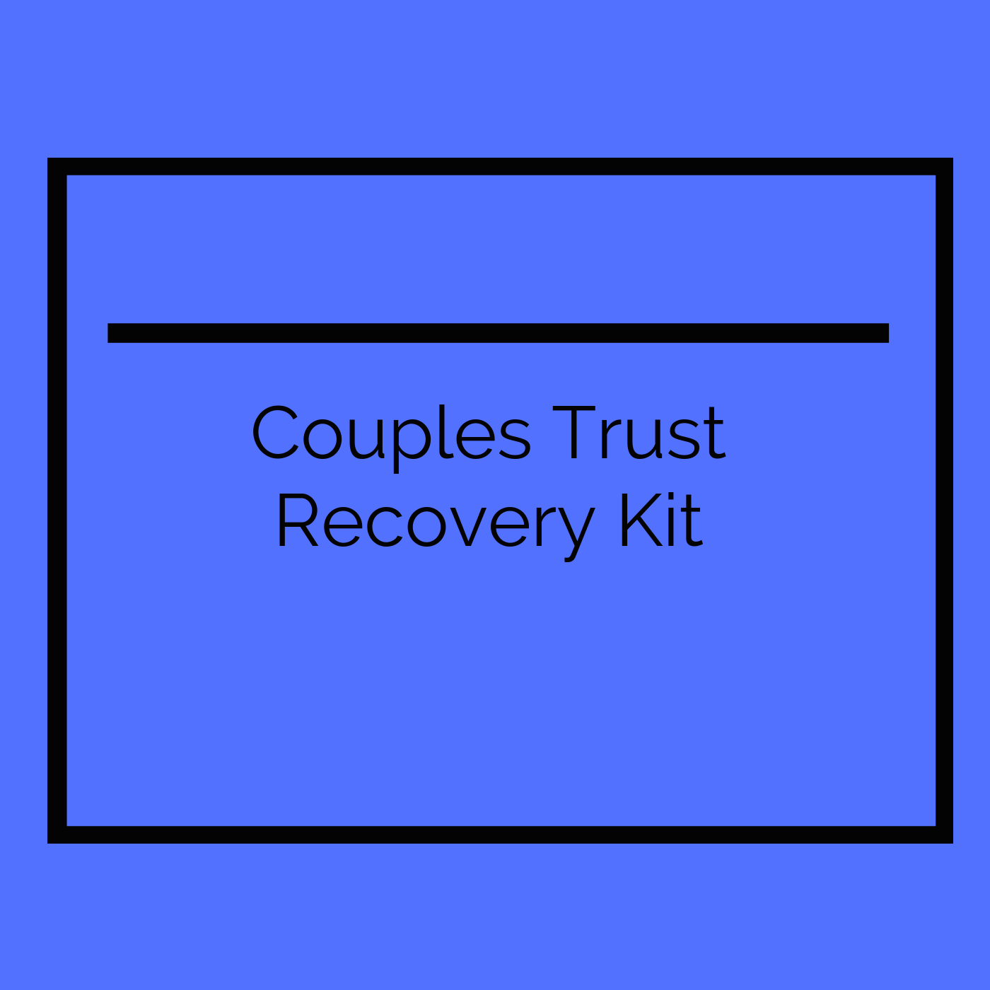 Trust Recovery Kit