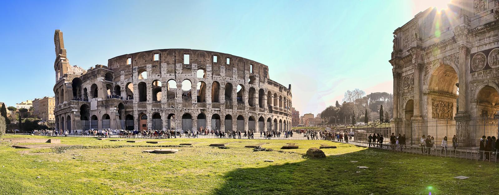 rom :: panorama colosseum IV