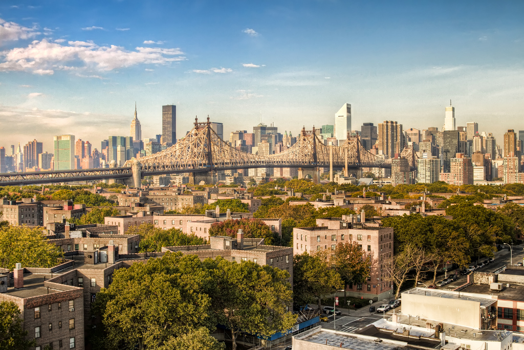 new york city :: rooftop-view