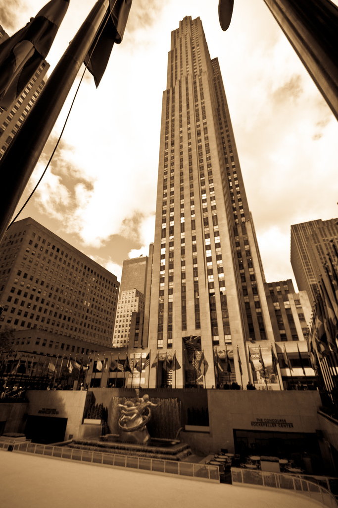 new york city :: rockefeller center
