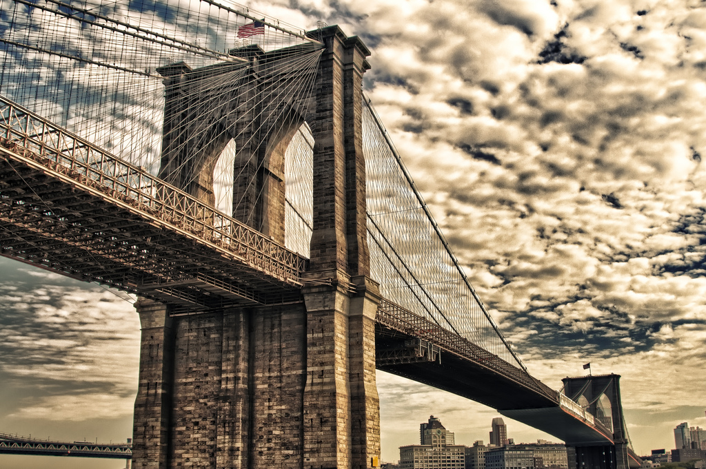 new york city :: brooklyn bridge  :: hdr