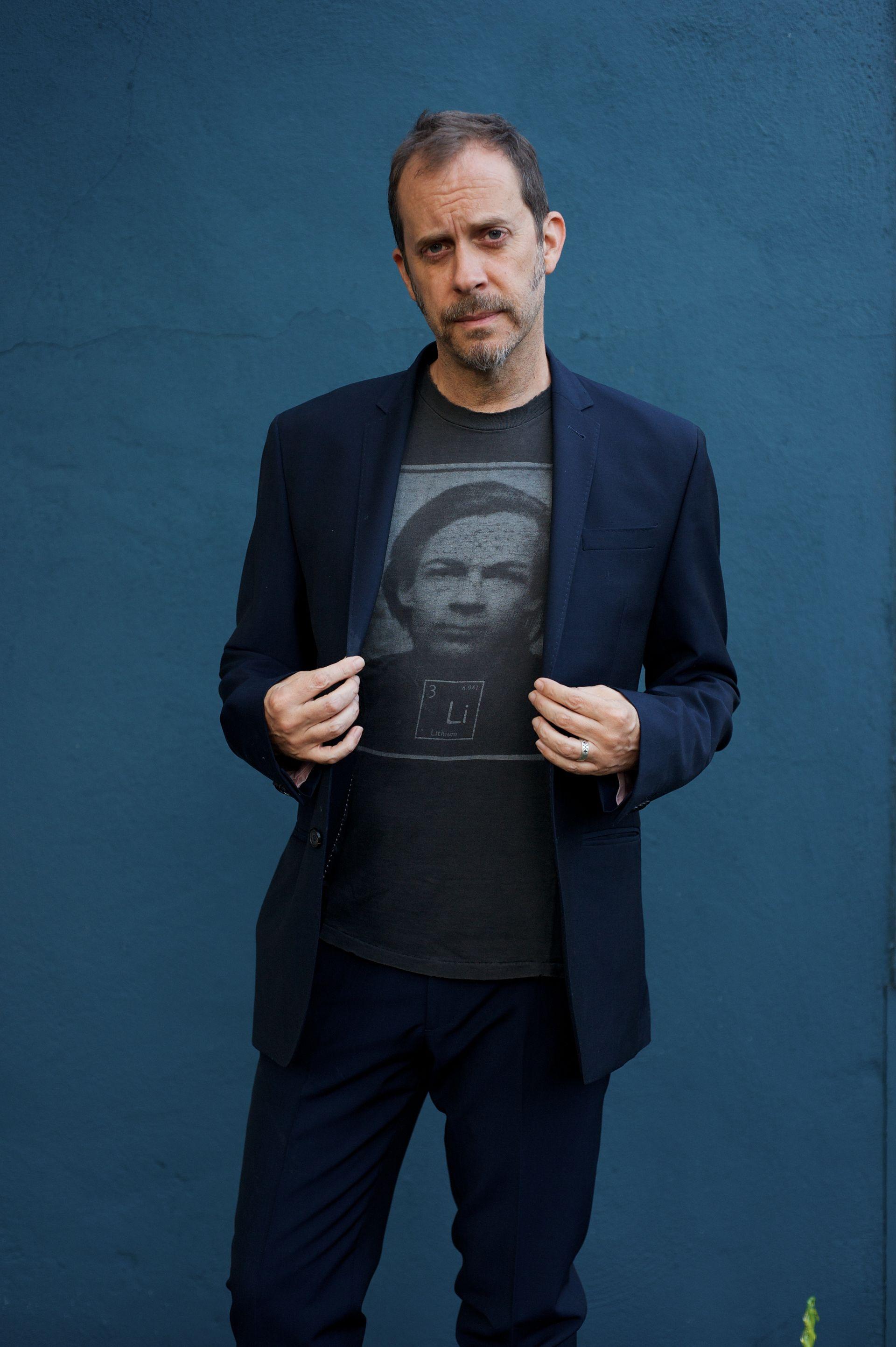 Director Tyler Hubby (OtDS shirt), 2016   Photo:Tyler Hubby