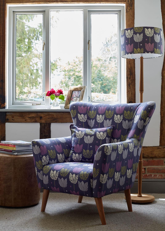 chair and cushion in tulip fabric.jpg