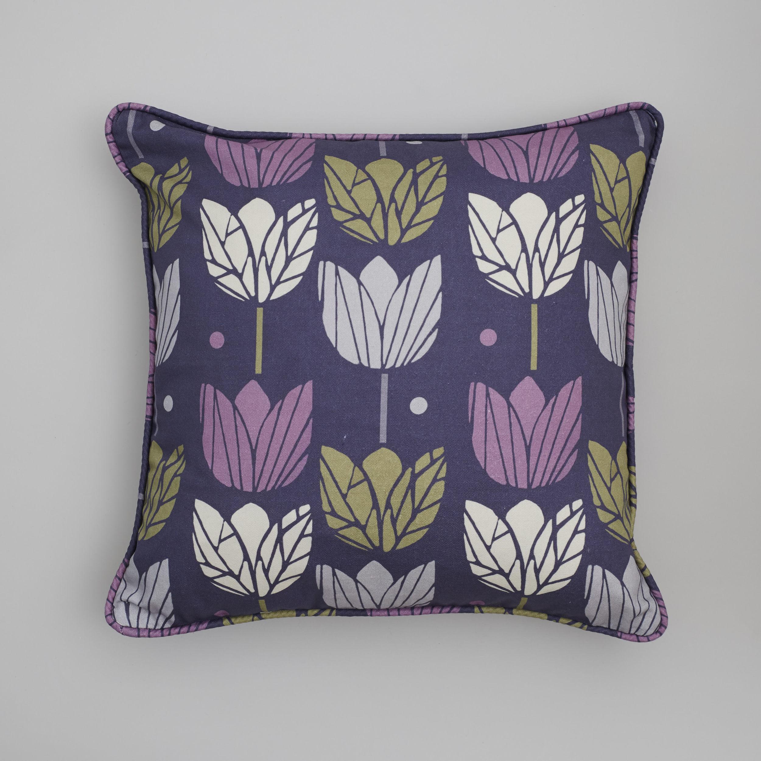 cushion in purple tulips fabric .jpg