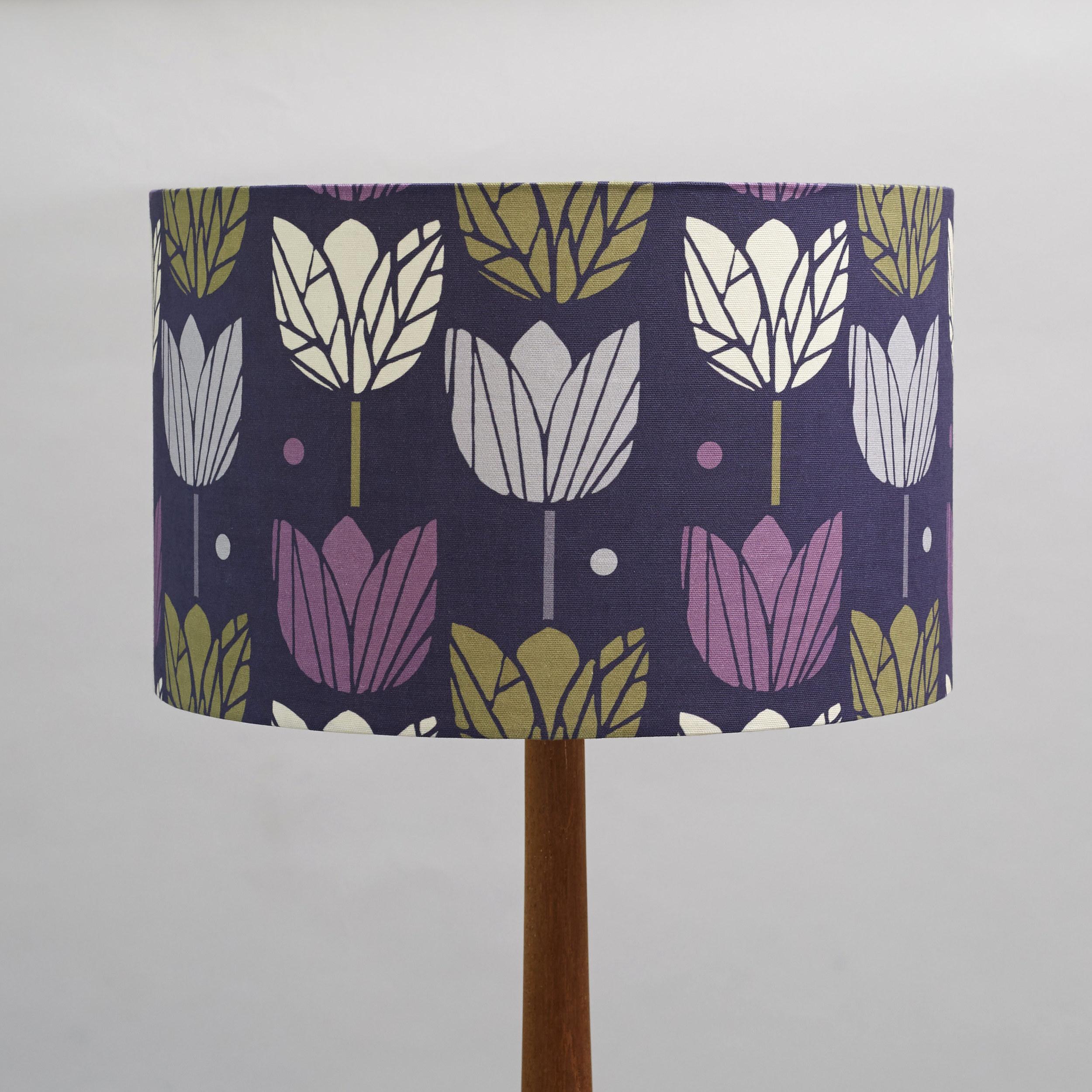 large lampshade in purple tulips.jpg