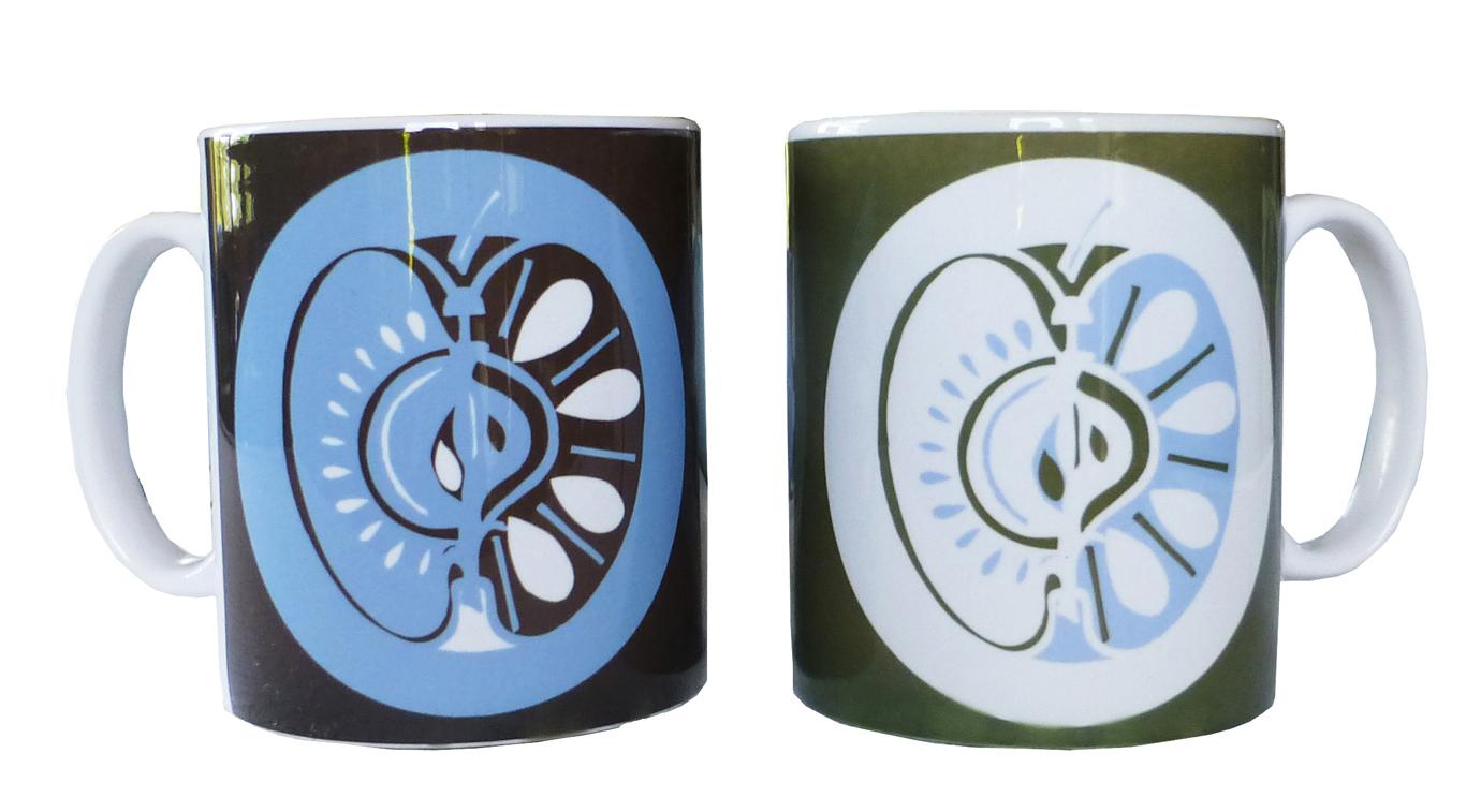 Mugs in Apple design