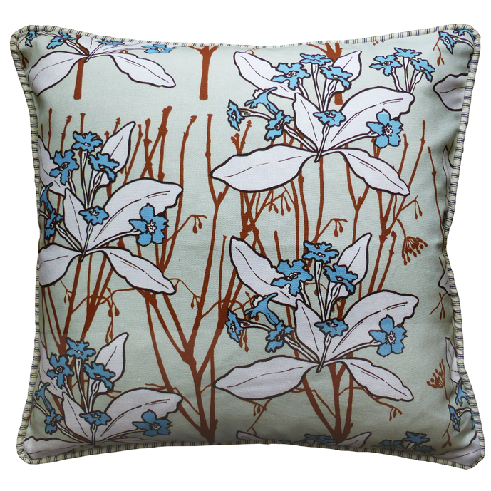 Cushion in Primrose taupe