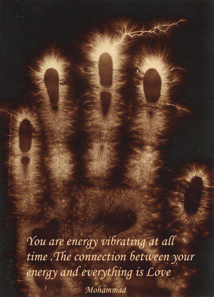 You are energy vibrating at all time .The connection between your energy and everything is Love .png
