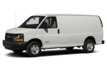 Express 2500 Van, Automatic Transmission, Air Conditioning, Side and rear access doors - Approximately 200 cubic feet cargo capacity